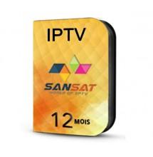 Abonnement IPTV SANSAT 12 mois