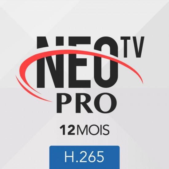 IPTV NEO TV pro 12 mois
