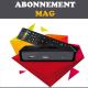 Abonnement MAG iPTV 250/254/255/256/257