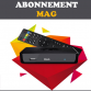 Abonnement infomir MAG IPTV tous modèle 12 mois