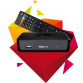 HK1 MAX Smart tv box Android 9.0 2.4G/5G + abonnement iptv 12 mois