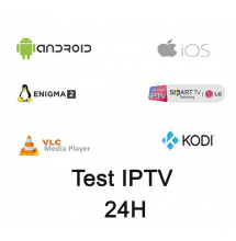 Test IPTV 24H Tout Models