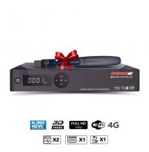 ECHOSONIC AZ-1010PLUS GOLD + abonnement smart+ iptv 12 mois + clé wifi
