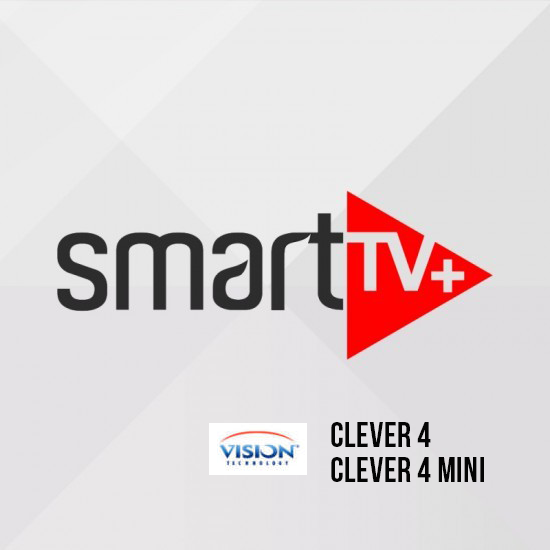 Smart+ IPTV VISION Clever 4 / clever 4 mini 12 mois