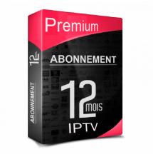 Premium IPTV & VOD Full HD 12 mois.