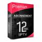 Premium IPTV & VOD Full HD 12 mois. EPG & LOGO.