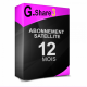 Abonnement G-share 3 starsat Pinacle Geant 12 mois