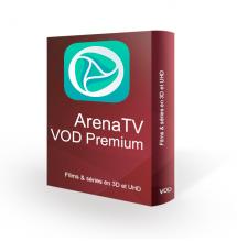 Abonnement VOD ArenaTV premium 12 mois.