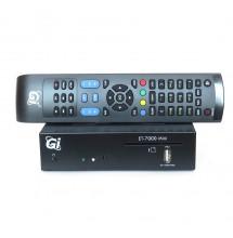 Gi ET-7000 Mini Enigma2 + Abonnement satellite Oscam script & IPTV & VOD 12 mois.