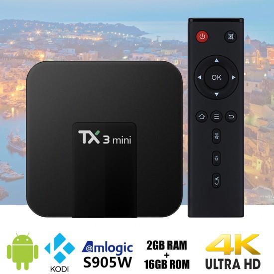 TX3 mini Android 7.1 2GB 16GB