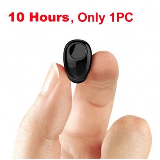 Mini Bluetooth couteurs 10 Heures de Travail Bluetooth Casque Sans Fil Intra-auriculaires couteurs Mains Li