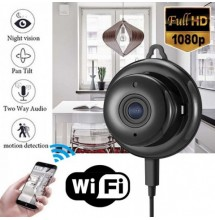 Mini Camra Sans Fil WIFI IP Camra de Scurit a Domicile 1080p