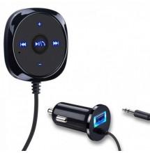Bluetooth Aux Sans Fil Kit de voiture Musique Récepteur 35mm Adaptateur Mains Libres