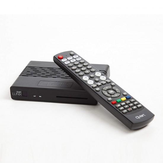Qviart Lunix HbbTV Full HD 1080p H265 + abonnement 12 mois