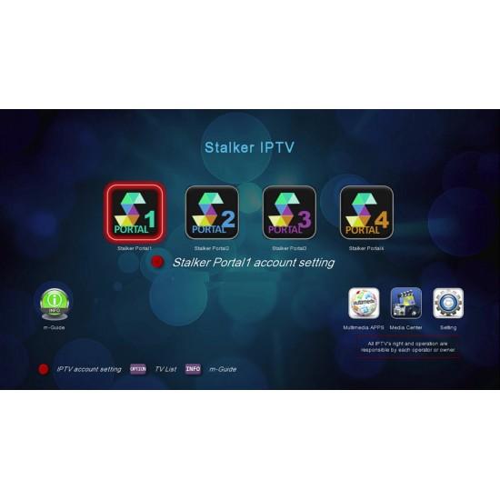 Abonnement IPTV Medialink 12 mois Portal