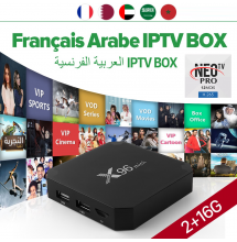 X96 mini Android 7.1 smart box IPTV + 12 mois neoTV + 6 mois VOD arenatv.