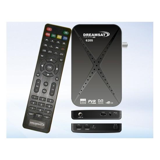 Dreamsat 620S HD + Abonnement sat 12 mois + iptv 6 mois