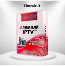 Premium IPTV FHD avec Time-shift 12 mois.