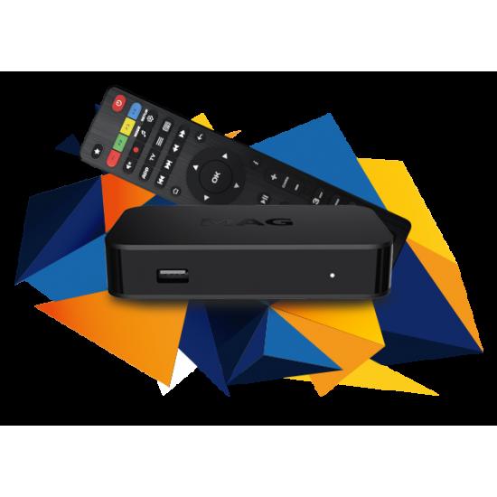MAG 322 + IPTV premium FHD 12 mois