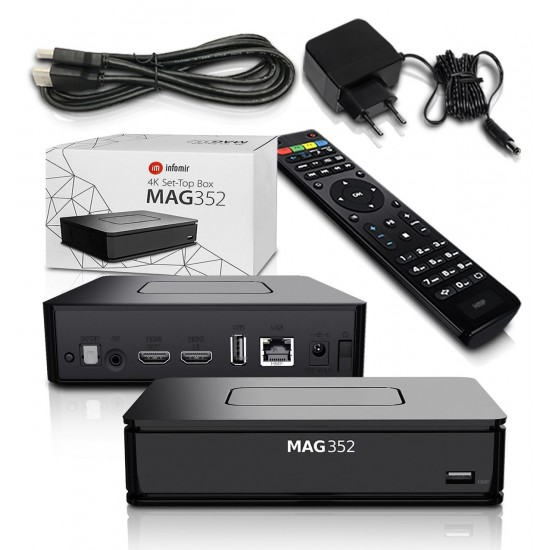 MAG 351/352 4K WLAN WIFI + IPTV magnum 12 mois