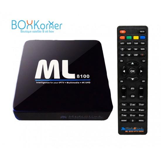Medialink ML8100 + abonnement IPTV 12 mois