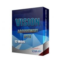 Abonnement IPTV Vision Amigo 5 - 12 mois