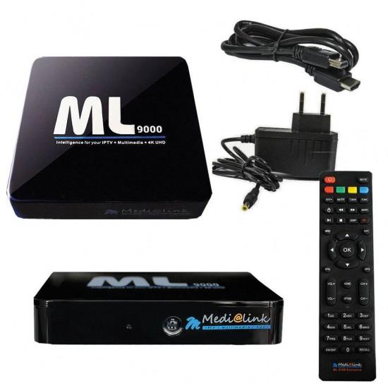Medialink ML 9000 4 K UHD Iptv 12 mois