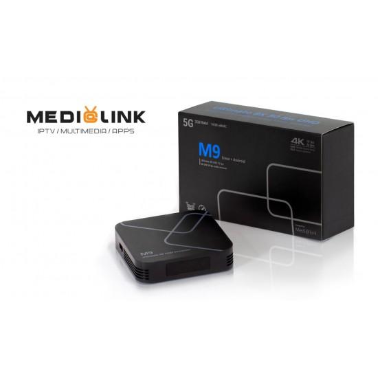 MEDIALINK M9 Ultra 8K UHD + abonnement 12 mois
