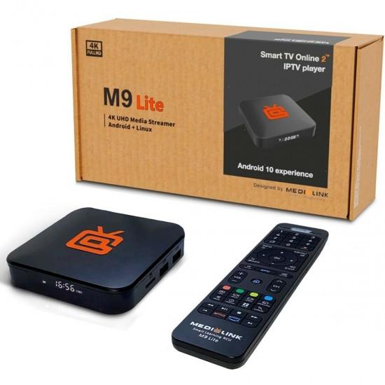 Medialink M9 Lite 4K UHD + Abonnement 12 mois
