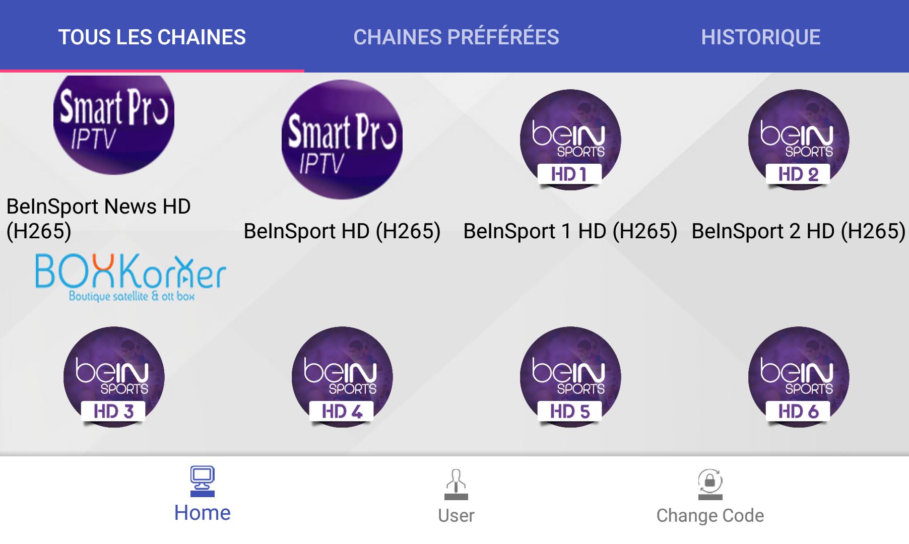 Abonnement Smart Pro IPTV 12 mois Android IOS  - BoxKorner boutique